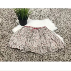 Zara Kids Girl Skirt Casual Short Pleated Sz: 3-4Y